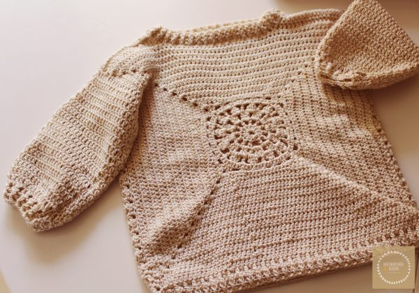 Jersey de ganchillo bebé