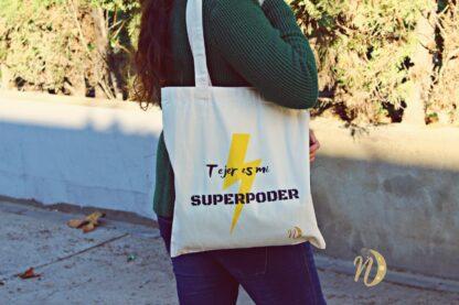 bolsa tejer es mi superpoder