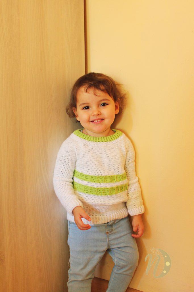 jersey crochet infantil