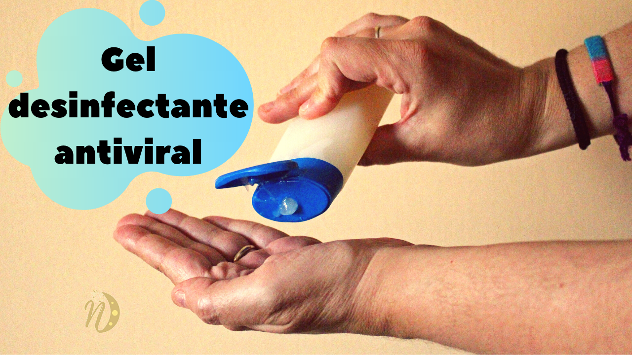 gel desinfectante antiviral