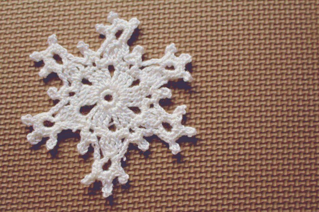 copo de nieve crochet